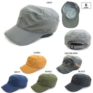 Water-Repellent Top Tuck Military Cap