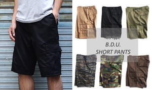 B.D. Shor Pants Lip 6 Colors