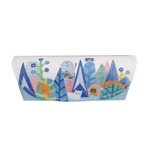 [ ECOUTE! minette] Eyeglass Case Blue