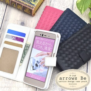 Smartphone Case Lattice Design Notebook Type Case