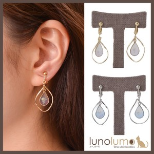 Twist Metal Color Earring