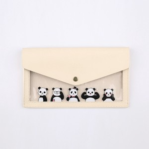 Character Pencil Case White