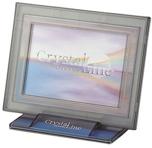 Crystal Line Photo Stand