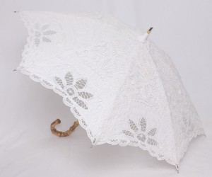 Beach Parasol Stick Umbrella Lace