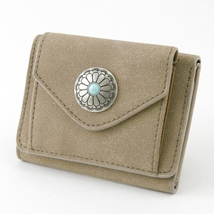 Popular Button Trifold Wallet