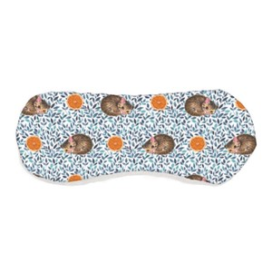 Aroma Hot Eye Pillow Fruit Animal Orange cat