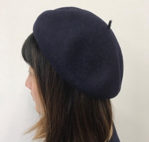 2018 A/W Wool Beret Attached