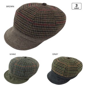Houndstooth Pattern Casquette