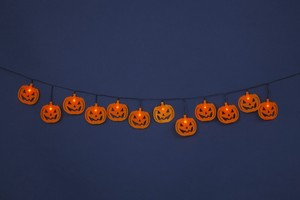 LED Halloween Rocking Pumpkin Banner