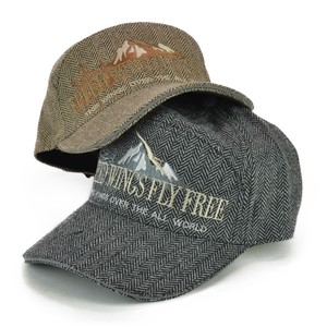 Tweed Wide Cap Men's Hats & Cap