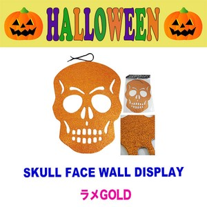 Skull Face Wall Display Decoration Halloween
