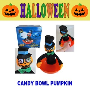 CANDY Candy Bowl Pumpkin Halloween Sweets