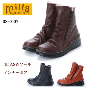 4E Light-Weight Sole Inner Double Fastener Boots