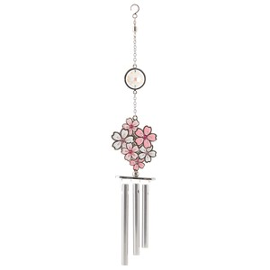 Chime Sakura Skiing Crystal Use Ornament