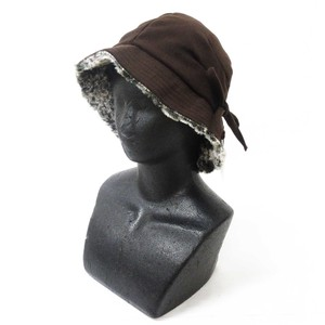 A/W Fashion Accessory Ladies for Women Hats & Cap Ribbon Hat Brown