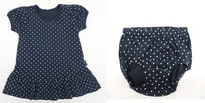 Dot One Piece Bloomers Set Baby