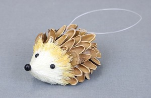 Natural Hedgehog Ornament