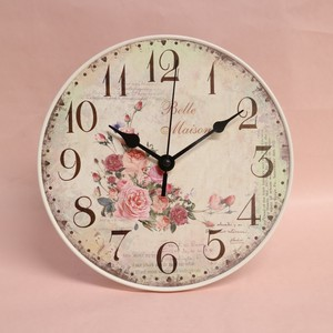 Rose Wall Clock Table Clock Unisex