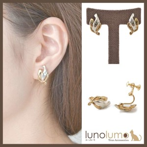 Combi Color Design Metal Earring