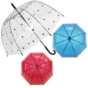 Polyethylene Mark Repeating Pattern One push Umbrellas