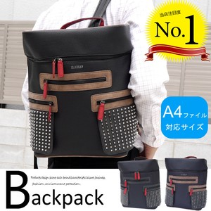 Bag Backpack Studs Men's