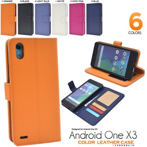 Smartphone Case 6 Colors Color Leather Notebook Type Case