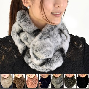 Rex Scarf Bonbon Design Fur Scarf Ladies Fur Real Fur 2018 A/W