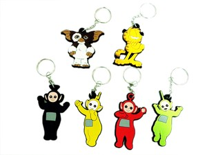 American Character Key Ring