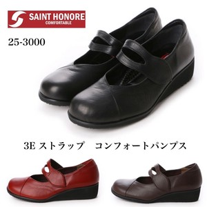 3E Soft Leather Strap Shoes