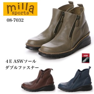 4E Sole Double Fastener Short Boots