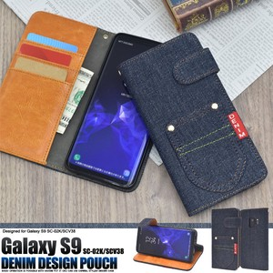 Smartphone Case SC SC Pocket Denim Design Notebook Type Case