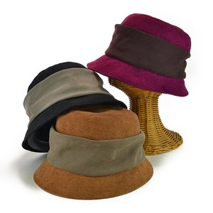 Suede Shearing Crochet Ladies Hats & Cap
