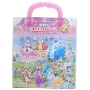 《コレクション》ディズニープリンセス/おでかけHELLOシール/ラプンツェル 白雪姫 シンデレラ