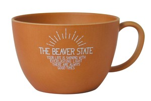 2018 A/W THE BEAVER STATE Series Wood Grain Mug