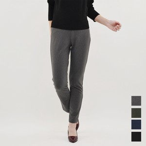 A/W Flannel High-waisted Tapered Pants Stretch Pants