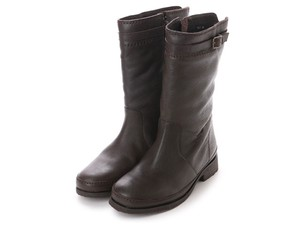 3 Colors Genuine Leather Belt Design Casual Mid-calf Boots