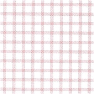 Wrapper Gingham Pink Half Sheet