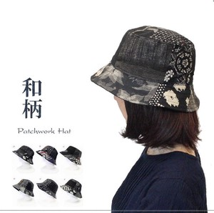 2018 A/W Cotton Japanese Pattern Patchwork Hats & Cap