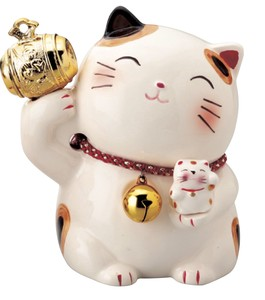 Gavel Cat Piggy Bank Ornament