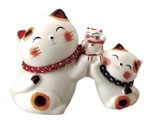 Parent And Child Cat Piggy Bank Ornament