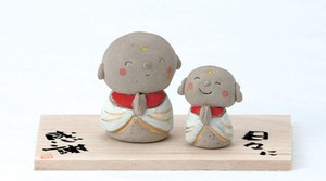 Parent And Child Jizo Ornament