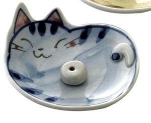 Hand-Painted Cat Incense