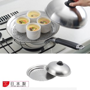 Frying Pan Put Easy Steaming Plate Dome