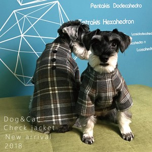 Pet Product Dog Checkered for Cat Dog Wear cat Pet Pet