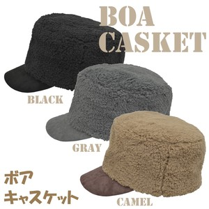 2018 A/W Casquette Ladies Adjustment Attached Lining Attached