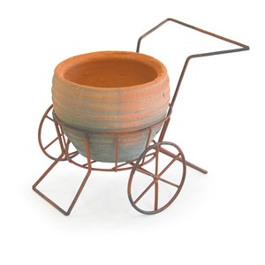 2018 A/W Wire Terracotta Planter