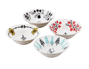 The Moomins The Moomins Valley Bowl 4Pcs set