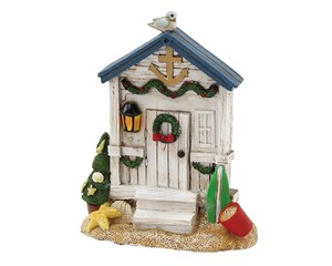 Noel Santa House Ornament