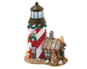 Noel Light House Ornament