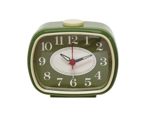 Analog Clock Moss Green